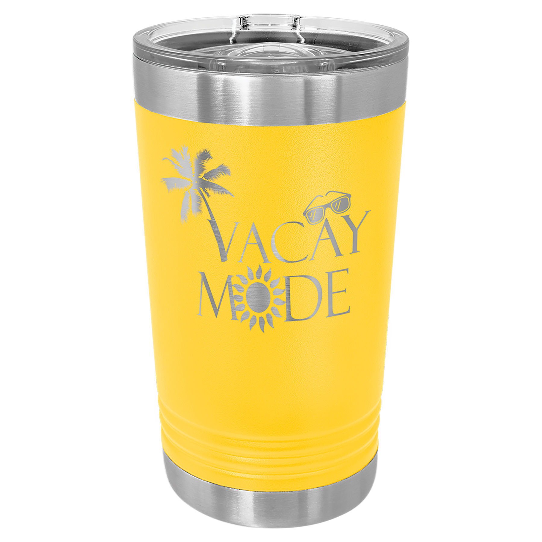 Picture of 16 oz. Pint Vacuum Insulated Stainless Steel Tumbler with Slider Lid