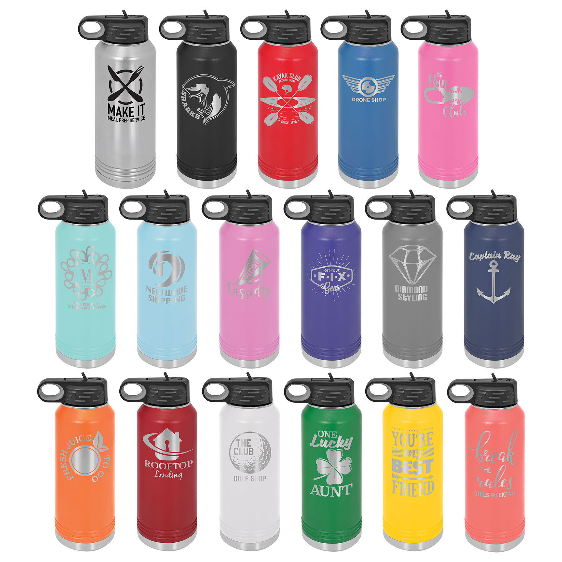 Picture of 32 oz. Polar Camel Stainless Steel Water Bottle