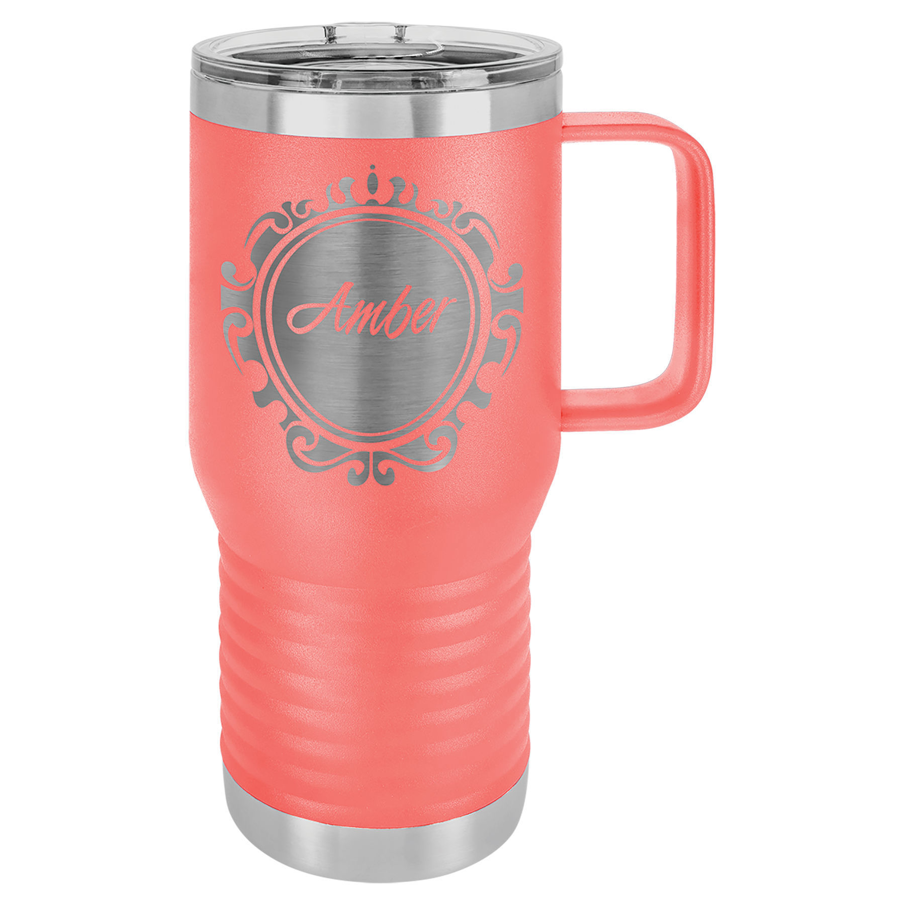 Picture of Polar Camel 20 oz. Vacuum Insulated Travel Mug with Slider Lid